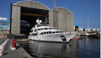 Launch of the new Benetti My Sisa motor yacht